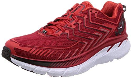 Hoka Clifton 4 Haute Red / High Red - Scarpa Running Uomo - 42 2-3