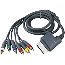 Leaders Componente de 1,8 Metros Alta Definicion HD TV Audio Video Cable AV para Xbox 360