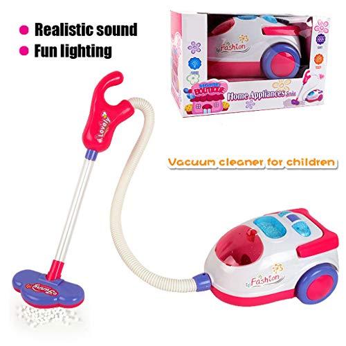 Dkings Dyson Ball Vacuum mit echtem SOG und Geräuschen - Spielzeug-Staubsauger, Haushaltsgeräte-Set Spielzeug Haushaltsgeräte, Hausspiel-Staubsauger Kids Role Play Staubsauger Realistisches Spielzeug