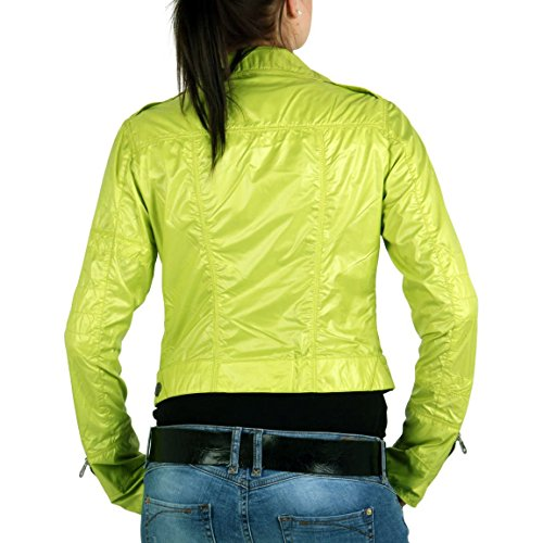 Chiaro IS FOR HEROES by PARAJUMPERS giacca da donna Tisch Neon Yellow Giallo