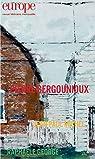Pierre Bergounioux par Europe