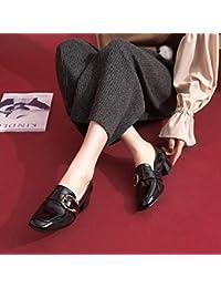 Versión Coreana Del Otoño De Los Nuevos Zapatos De Las Mujeres Zapatos  únicos Redondos De La c7f88c1c71e