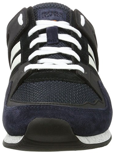 Boss Orange Adrenal_Runn_MX 10197240 01, Sneakers Basses Homme Bleu (Dark Blue)