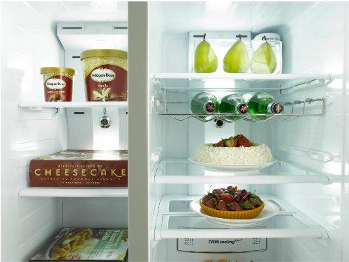 Side By Side Kühlschrank Geringe Tiefe : Samsung rs ugdsref side by side kühlschrank mit