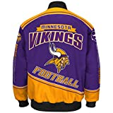 "Minnesota Vikings Men's NFL G-III ""Enforcer"" Premium Twill Jacket - 2"