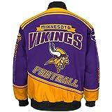 "Minnesota Vikings Men's NFL G-III ""Enforcer"" Premium Twill Jacket - 2"