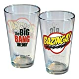Pint-Glas mit Motiv Bazinga aus The Big Bang Theory-Bazinga Sheldon Cooper TV trinken!