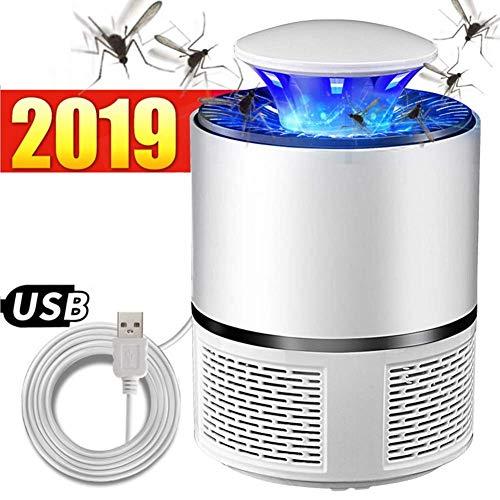 DYR Lampe Anti-Moustique Lampe Anti-Moustique électrique USB Electronics Piège Anti-Moustique Veilleuse LED Veilleuse Aucune Radiation Non-Toxique LED Fly Kille Mosquitoes Inhalateur Piège (Couleur: