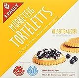 3 Pauly Mürbeteig Torteletts - glutenfrei, 4er Pack (4 x 200 g)