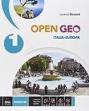 Open Geo. Atlante geo-storia-Cittadinanza. Per la Scuola media. Con e-book. Con espansione online: 1