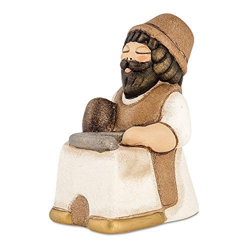 Thun® - uomo maniscalco - versione bianca - statuine presepe classico - ceramica - i classici