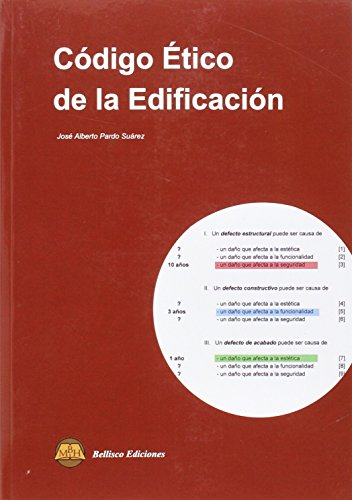 CODIGO ETICO DE LA EDIFICACION por José Alberto Pardo Suárez