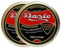 Dazlo® Shoe Wax Polish Black - 80g (2x40g) - Export Quality