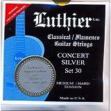 CUERDAS GUITARRA CLASICA - Luthier (LU/30SC) Super Carbon Concert Silver 30 (Juego Completo)