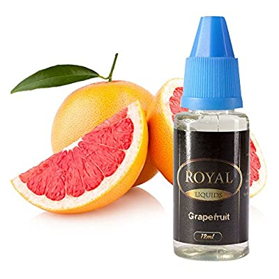 E-Liquid Grapefruit ohne Nikotin für E-Zigarette 12ml Inhalt von Royal Liquids