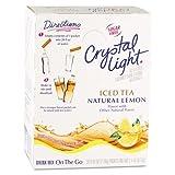 #1: Crystal Light On the Go, Iced Tea, .16oz Packets, 30/Box