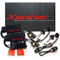 XENTEC H11 (H8/H9) 10000K HID Slim Ballast HID Xenon Kit (Brillant Blue) by Xentec
