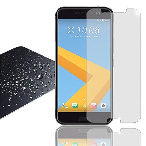 EximMobile - Panzerglasfolie für HTC Desire 820 | Panzerglas (klar) für besten Bildschirmschutz | Selbstklebende Panzerfolie | 9h Glasfolie rückstandslos entfernbar | Schutzfolie Folie