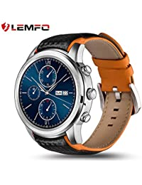 LEMFO LEM5 Smart Watch Android 5.1 MTK6580 Quad Core 1GB/8GB 3G WIFI GPS Heart Rate Monitor Cell Phone Smartwatch...