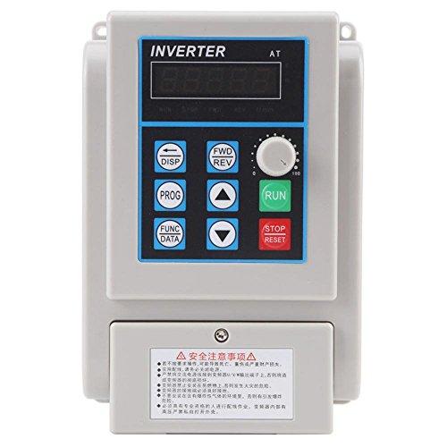 1pc AC 220V 1.5KW Unidad de Frecuencia Variable VFD Controlador de Vel