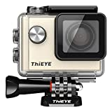 AcTopp Cámara deportiva ThiEYE i60 4K Impermeable IP68 Action Camera Sumergible a 40m de Gran Angular 152º, 6G lente, F2.8 Gran Abertura, 1080P, 1200