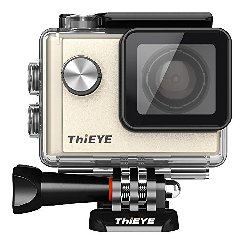 ThiEYE Sportkamera i60 - Neue Version [1080P 2.7k Full HD Outdoor-Actionkamera]