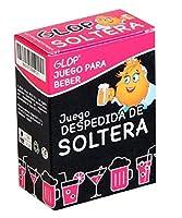 Glop Despedida de Soltera, Juego de Beber con 100 Cartas Diferentes de Glop