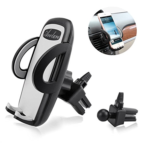 Price comparison product image Car Mount, Avolare® Car Air Vent Phone Holder, Universal Upgraded Version Car Phone Cradle Adjustable High Quality Phone Holder for Hands Free Driving, Compatible with iPhone SE 7 7 Plus 6s 6 Plus 5s 5 4s 4, Samsung Galaxy S7 S6 S5 Note 5, LG Nexus Snoy HTC Motorola and More
