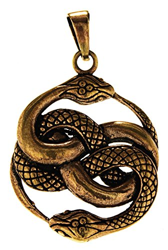 Kiss of Leather Serpentinas Colgante de Bronce nº 135