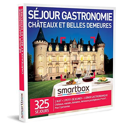 SMARTBOX - Coffret Cadeau homme femme couple - Séjour gastronomie châteaux et...