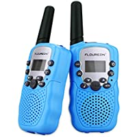 FLOUROEN Twin Walkie Talkie for Kids 2 Way Radio Toys Outdoor Activity with Long Distance Range