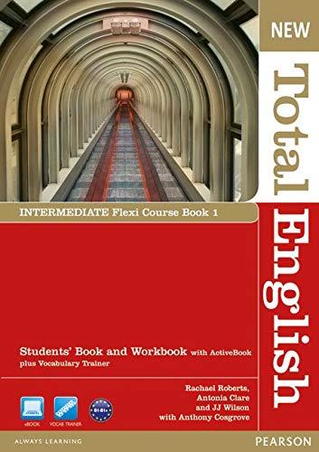 New Total English Intermediate Flexi Coursebook 1 Pack