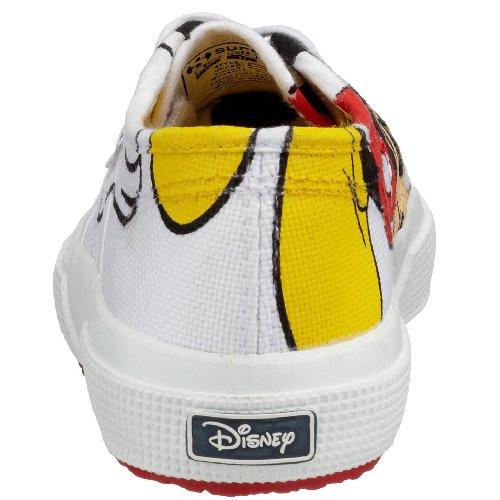 Superga 2750- Disney Topolicotj–Scarpe basse in tela per bambini Multicolore (Mehrfarbig (White F01))