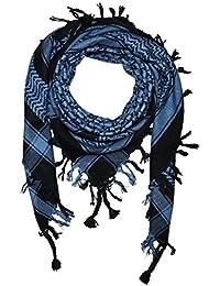 Superfreak® Palituch Grundfarbe schwarz°PLO Schal°100x100 cm°Pali Palästinenser Arafat Tuch°100% Baumwolle – alle Farben!!!