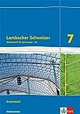 Lambacher Schweizer - Ausgabe für Niedersachsen G9 / Arbeitsheft plus Lösungsheft 7. Schuljahr - Matthias Janssen