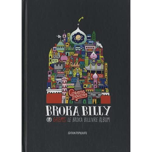 Broka Billy (Livre+CD Album) GREMS le Broka Billivre Album