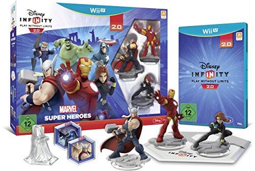 Disney Infinity 2.0: Marvel Super Heroes Starter-Set - [Wii U] (Wii Infinity U Disney Spiel)