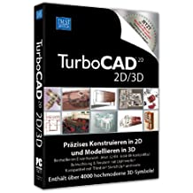 TurboCAD Version 20 2D/3D incl. 3D Symbole