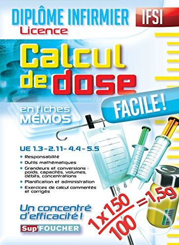 IFSI Calcul de dose facile - Diplôme in...