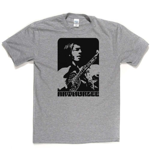 Arthur Lee American psychedelic Rock Musician T-shirt Aschgrau