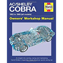 AC Cobra: 1962 to 1968 (All Models) (Haynes Owners' Workshop Manual)