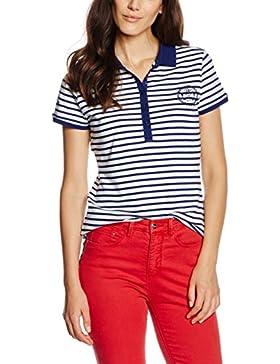 Pedro del Hierro Polo Rayas, Camiseta para Mujer