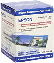 Epson C13S041330 Premium Semi Glossy Roll 100mm x 8m Rotolo Carta Fotografica