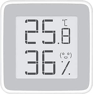 For Mijia Miaomiao Hygrometer Digital Thermometer Indoor E Ink Hd Display Digital Thermo Hygrometer Indoor Humidity Meter With Emoji Command Prompts Temperature And Humidity Meter Küche Haushalt