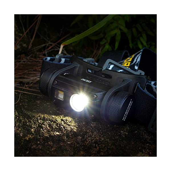 LKSDD LED Head Torch,1000LM Three-Hole Socket Indoor Headlights, Waterproof Flashlight Including A 3400Mah 18650 Battery