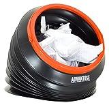 ADVANTUSE - Auto-mülleimer 4 Liter auch für Camping, Angeln und Festival - faltbar, kompakt, tragbar, auslaufsicher und wiederverwendbar [ Das Original ]