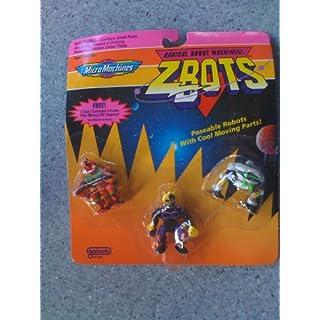 Micro Machines ZBots Radical Robot Machines 1992 Armatron, Krobarr & Nekgripper