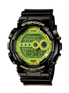 Reloj de caballero CASIO GD-100SC-1ER de cuarzo, correa de resina color negro de Casio G-Shock