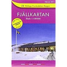 Fjällkartan Helags - Funäsdalen - Rogen