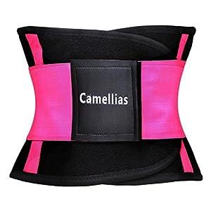 Camellias Damen Bauweg Gürtel Sport Gurt Waist Trainer Taillengürtel